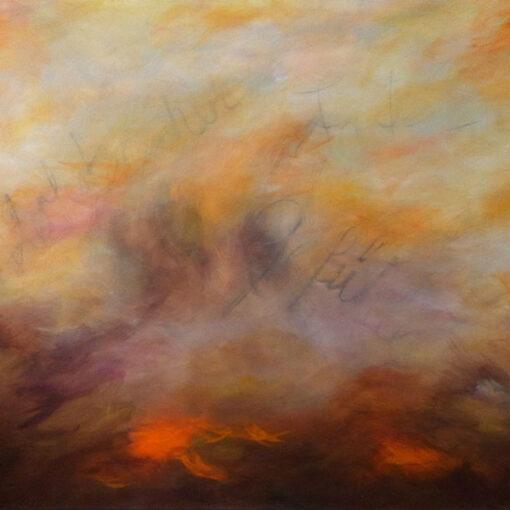 Herbstgefühle - 2012 - 100 x 120 x 4 cm auf Leinwand - verkäuflich - Acryl