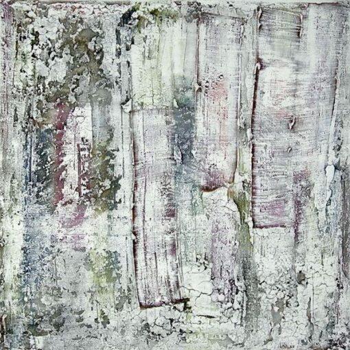 Verwitterte Wand - 2015 - 100 x 100 x 4 cm auf Leinwand - verkäuflich - Mischtechnik II