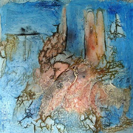 Atlantis - 2013 - 50 x 50 x 4 cm auf Leinwand – Mischtechnik II
